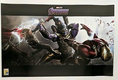 SDCC 2019 Marvel Avengers Endgame Poster Exclusive