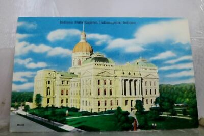 Indiana IN Indianapolis State Capitol Postcard Old Vintage Card View Standard PC