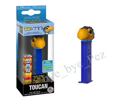 "MIB Exclusive SDCC 2019 OFFICIAL FUNKO POP PEZ TOUCAN AD ICONS ""Order confirmed"""