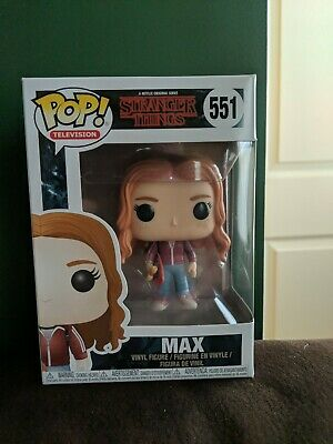 Funko POP Stranger Things Max with Skateboard #551