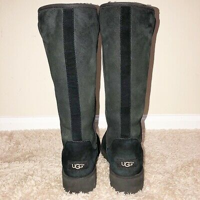 93b0d19e14b UGG KARA 1013429 Woman's Classic Tall Boots Sz 7/ Water-Resistant Authentic