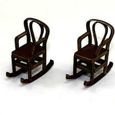 4Ground Furniture 28mm Bentwood Rocking Chair - Medium Wood Pack MINT