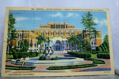 California CA State University Los Angeles Postcard Old Vintage Card View Post