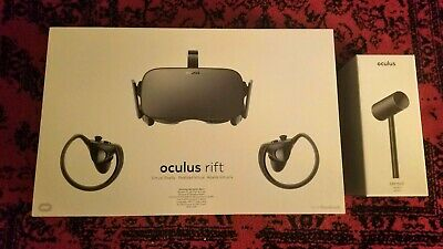 Oculus Rift Virtual Reality System w/Extra (3rd) Sensor + Other Extras