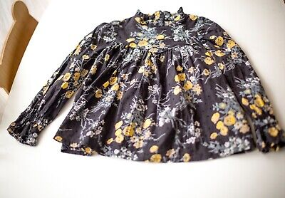 4T Bonpoint liberty blouse 100% cotton Incredible Luxury design and colors