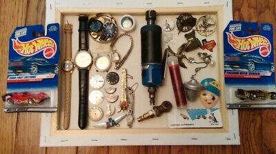 Junk Drawer Omega 224 Watch Movement Mido OceanStar HotWheels Omega 1340-9400
