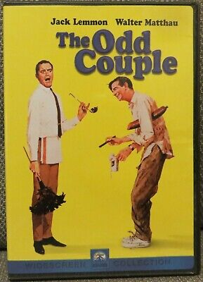The Odd Couple - Jack Lemmon Walter Matthau Out Of Print OOP DVD