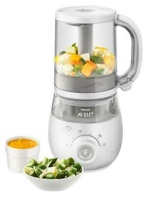 Philips Avent 4-in-1 Healthy Baby Food Maker Steamer Blender Philips Avent Free