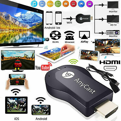 Bluetooth DLNA Airplay Miracast 1080P HDMI Wifi Display Receiver Dongle Android