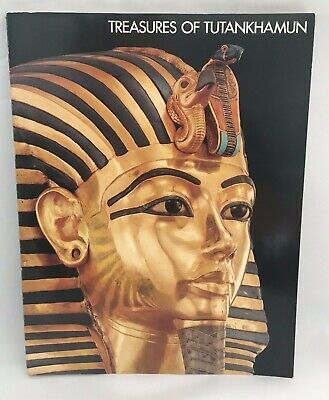 Treasures of Tutankhamun 1976 Museum Tour Exhibition Catalog - KING TUT