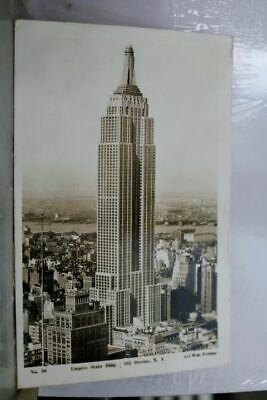 New York NY NYC Empire State Building Postcard Old Vintage Card View Standard PC