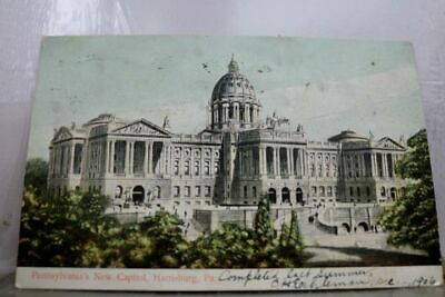 Pennsylvania PA State Capitol Harrisburg Postcard Old Vintage Card View Standard