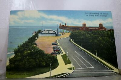 Illinois IL State University Chicago Postcard Old Vintage Card View Standard PC