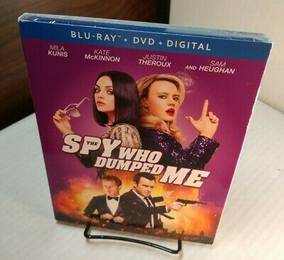 Spy who dumped me (Blu-ray/DVD+Digital)Slipcover-NEW-Free Shipping with Trackin~