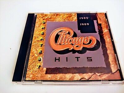 Greatest Hits 1982-1989 by Chicago (CD, 2004) Excellent Condition