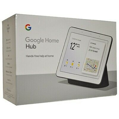 Google Home Nest Hub with Google Assistant (Charcoal)