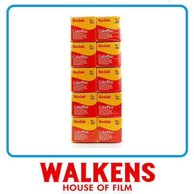Kodak ColorPlus 200 35mm - 10 roll Brick - FLAT-RATE AU SHIPPING!