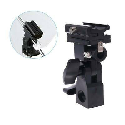 Swivel Hot Shoe Photo Mount Umbrella Holder Bracket B Flash Adapter Light Stand