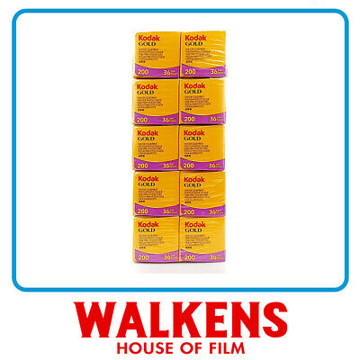 Kodak Gold 200 35mm - 10 roll Brick - FLAT-RATE AU SHIPPING!