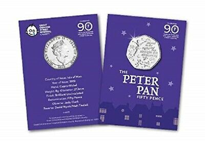 New IOM Peter Pan 50p to support Great Ormond Street Hospital Children..//