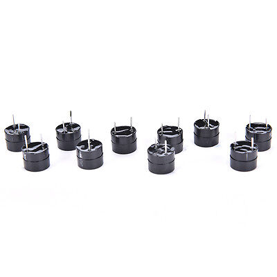 High quality!10pcs 5v Active Buzzer Magnetic Long Continous Beep Tone S HH