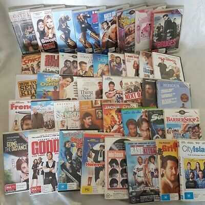 Comedy Movie Pack 41 x DVDs Naked Gun, In Bruges, Bio Dome & Calendar Girls