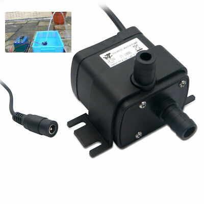 Small Submersible Water Pump Fish Tank Pond Fountain Aquarium Pump Feature UK A+