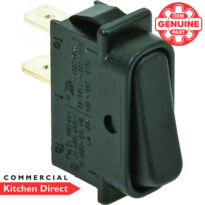 *Genuine Part* Instanta On/Off Black Rocker Switch - XEN400