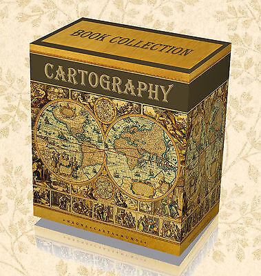 200 Cartography Map Making Books on DVD Drawing Design Ancient Atlas History 39