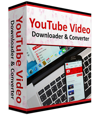 Youtube Downloader Video & File Converter Software App for Windows 10, 8,7, XP