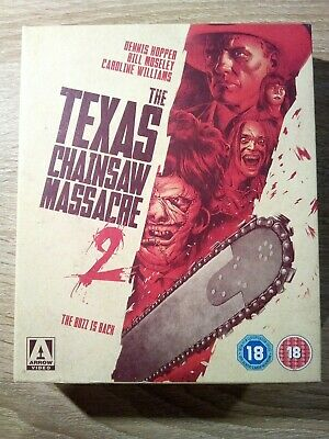 The Texas Chainsaw Massacre 2 - Limited Edition 2 Blu-ray + 1 DVD - ARROW VIDEO