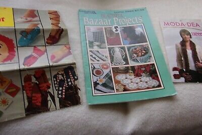 """vintage Sewing 1996 """"Bazaar Projects """" Books, Crochet Patterns [ Free - Shipping"""