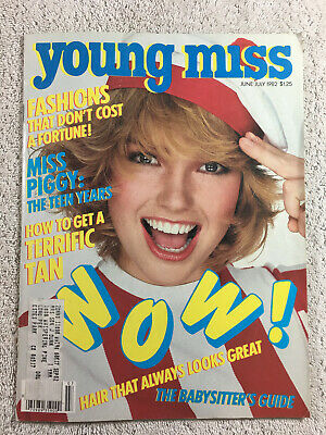 June-July 1982 YM Young Miss Magazine Girls Beauty Fashion Teen Miss Piggy