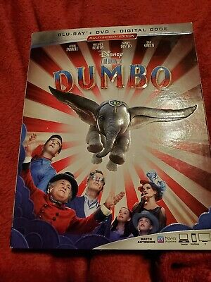 Dumbo 2019 (blu-ray only) No digital or DVD. See description and pics