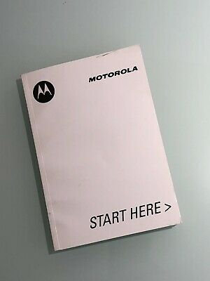 MOTOROLA V600 Cell Phone Owners  Manual,  Very Rare !!!   Brand New !!!
