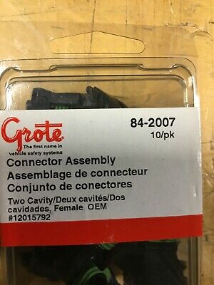 Grote 84-2007 - Weather Pack Connectors (10PK)
