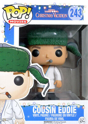 Pop Movies National Lampoon's Christmas 243 Cousin Eddie figure Funko 5894