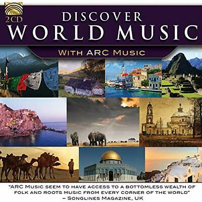 DISCOVER WORLD MUSIC - Various Artists - CD - New