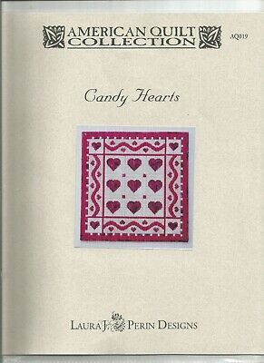 Needlepoint Pattern - Candy Hearts