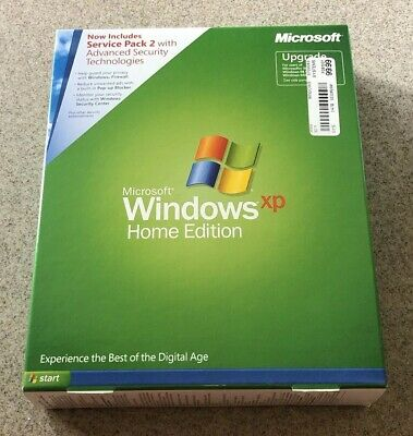Microsoft Windows XP Home Edition with Service Pack 2, Unopened, New in Box
