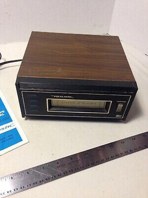 REALISTIC TR-168 14-1921 8-track STEREO PLAYER DECK + Manual