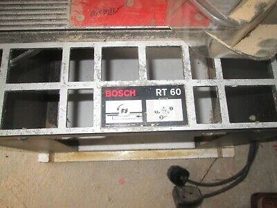 Bosch Rt60 Router Table Very Little Diy Use Very Good Condition
