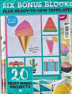 "New Issue~""Love Patchwork & Quilting~Issue #74 2019~Free-Ready-To-Sew Templates!"