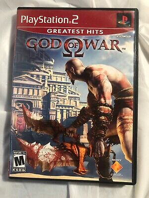 God of War (Sony PlayStation 2, 2005) Greatest Hits PS2 Complete Disc Manual