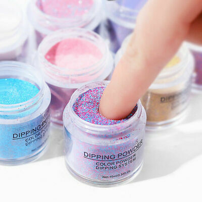 Nail Art Dipping Powder Glitter Liquid DIY Finger Nails Manicure Decoration
