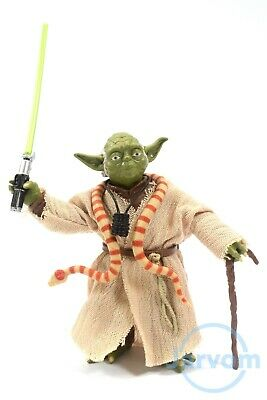 "Star Wars Authentic Black Series 6"" #06 Jedi Master Yoda ESB Loose Complete"