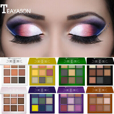 Nude Eyeshadow Palette 9 Color Naked Matte Pearl Eye Shadows Waterproof Natural