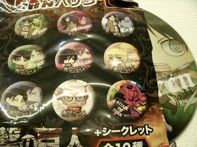 Eren AOT BIG button Attack on Titan Shingeki no Kyojin bandai Kodansha Japanimpo