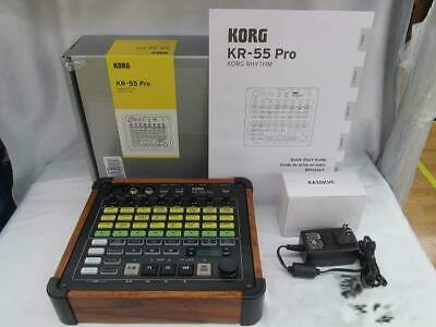 Korg Rhythm Real Groove Technology KR-55 Pro Tested Working Used