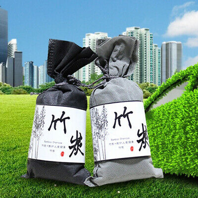 New Car Home Air Freshener Odor Absorber Activated Carbon Bamboo Charcoal Bag.